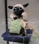 Ewe Knitting by Sandy Hoar