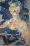 Woman, Open Face by Halcyone Bohen