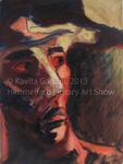 Man with Hat by Kavita Gadani