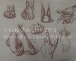 Hands and Feet Study by Kate Ovington
