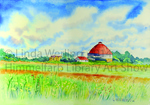 Barn on Cty J by Linda Werling