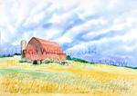 Red Barn by Linda Werling
