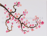 Cherry Blossoms by Vasumathi Anandan