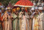 Tinket Priests, Lalibela by Frederick M. Jacobsen