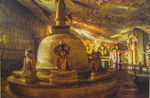 Dambulla Cave Temple by Frederick Jacobsen