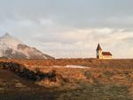 Church, Snaefellsnes Peninsula, Iceland