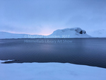 Winter Lake, Snaefellsnes Peninsula, Iceland