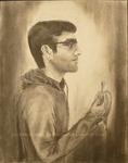 Man with Banana by Nyshidha Gurijala