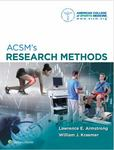 ACSM's Research Methods by Lawrence Armstrong and William J. Kraemer