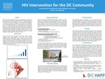 HIV Intervention for the DC Community by Evelyn Rosales, Elias Belhocine, Daniel Ndagha, and Tiana Young