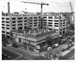 Construction of Himmelfarb Library, ca. 1970s