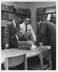 Students Reviewing Journals in the Library, ca. 1960s