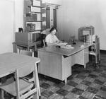 Librarian Isabella Young in Office