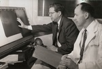 Dr. William W. Stanbro and Dr. Robert H. Barter Examining X-Rays