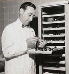 Dr. Edward E. Jerguson Preparing For Surgery