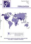 Population Reports. Series C-D, Number 2: Sterilization. The World's Laws on Voluntary Sterilization for Family Planning Purposes by Department of Medical and Public Affairs, The George Washington University Medical Center