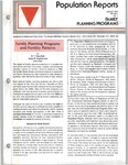 Population Reports. Series J, Number 1: Family Planning Programs. Family Planning Programs and Fertility Patterns