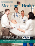 Medicine + Health, Spring 2014 by George Washington University, School of Medicine and Health Sciences, Office of Communications and Marketing