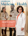 Medicine + Health, Spring 2015 by George Washington University, School of Medicine and Health Sciences, Office of Communications and Marketing
