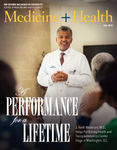 Medicine + Health Magazine, Fall 2015 by George Washington University, School of Medicine and Health Sciences, Office of Communications and Marketing