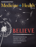Medicine + Health Magazine, Fall 2017 by George Washington University, School of Medicine and Health Sciences, Office of Communications and Marketing