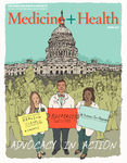Medicine + Health Magazine, Spring 2017 by George Washington University, School of Medicine and Health Sciences, Office of Communications and Marketing