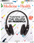Medicine + Health Magazine, Spring 2018 by George Washington University, School of Medicine and Health Sciences, Office of Communications and Marketing