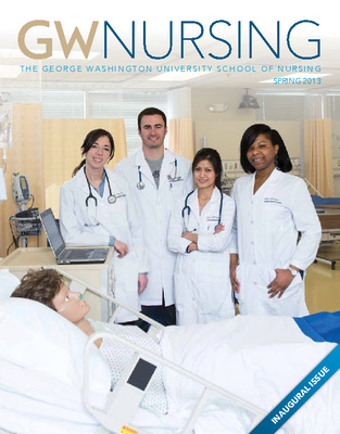 GW Nursing Magazine | School of Nursing | Himmelfarb Health
